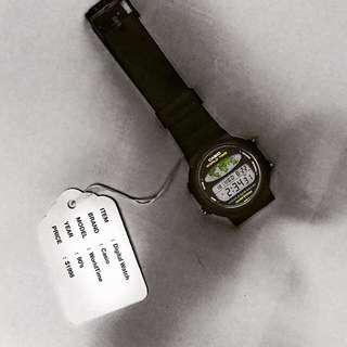 ⌚️Vintage Casio WorldTime Watch