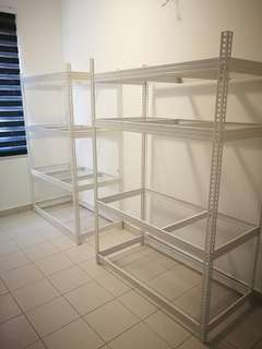 Large Boltless rack 4 tier