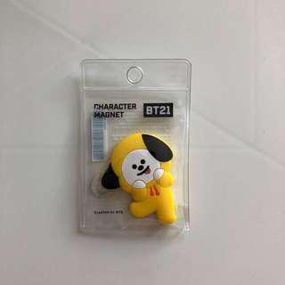 🚚 BTS BT21 防彈少年團 CHIMMY Magnet 鎡石貼 韓國正版