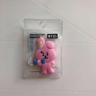 🚚 BTS BT21 防彈少年團 COOKY Magnet 鎡石貼 韓國正版