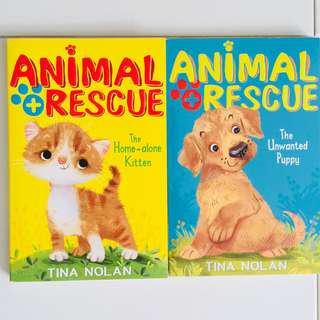 Animal Rescue Books by Tina Nolan