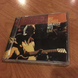 Sale ORIG BOZ SCAGGS Greatest Hits Live