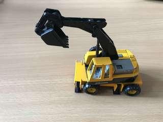 Toy Excavator Majorette Scale1/56 Extractor