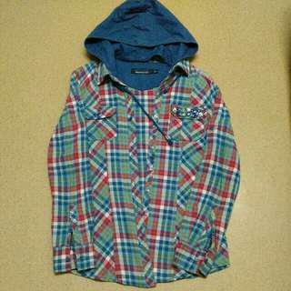 Detachable Hooded Flannel