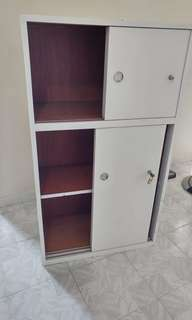 Wooden Book Cabinet (Lockable)