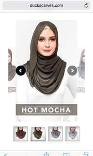 Hot Mocha Shawl