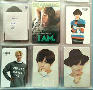 taemin official photocards