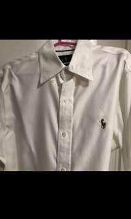 Ralph Lauren white long sleeves