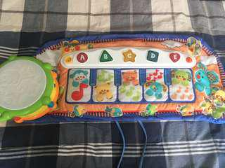Fisher Price Piano & Leap Frog drum