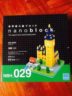 Nanoblock Big Ben (UK) 小型模型
