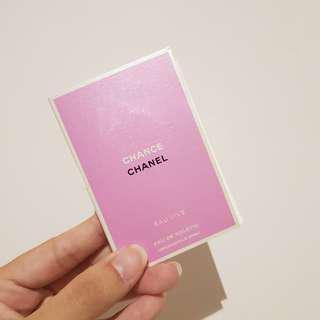 Authentic Chanel Chance Eau Vive EDT Vial