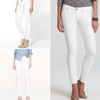 UNIQLO White Jeggings Pants Brand New Unworn Size S