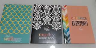 Erin condren wellness journal, budget book and perpetual calendar