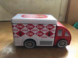 可口可樂鐵車一架