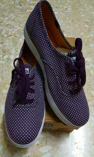 Keds Purple Polkadot