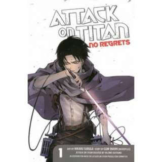 🚚 [PRE-ORDER] Attack On Titan: No Regrets; Volume 1 by Hajime Isayama