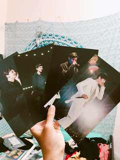 EXO Chanyeol Elyxion DVD Postcard (4 pieces)
