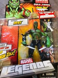 Marvel Legends GOTG Drax No Arnim Zola BAF part.
