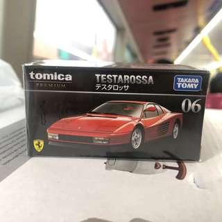 Tomica premium 06 testarossa ferrari