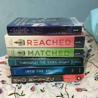 English Novels RM7 each
