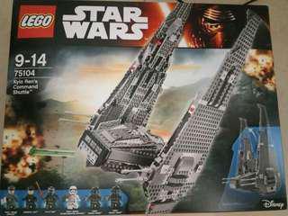 全新 Lego star wars 75104