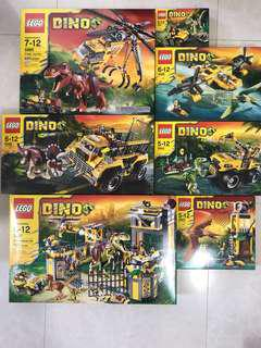 Lego Dino Full set of 7