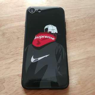 iPhone glass back case