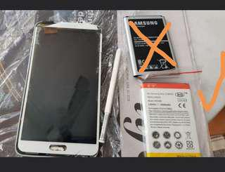 Used Samsung note 3 spares parts