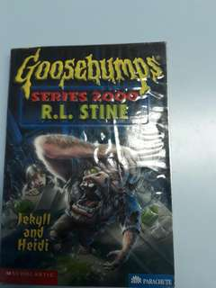 Goosebumps (Series 2000 R.L. STINE)