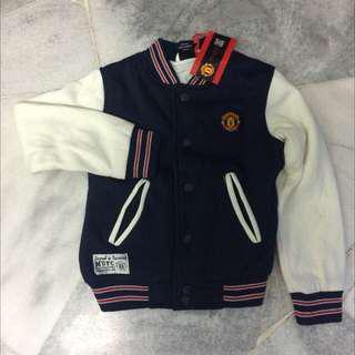 KIDS Man United Varsity Jacket