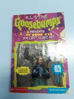Goosebumps (You Can't Scare Me)