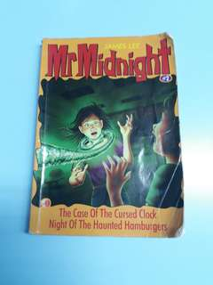 Mr Midnight (The Case Of The Cursed Clock, Night Of The Haunted Hamburgers)