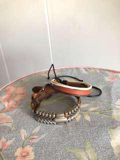 Assorted Leather Bracelet