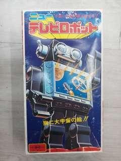 70s 堀川 TV Robot 機械人 Popy 超合金
