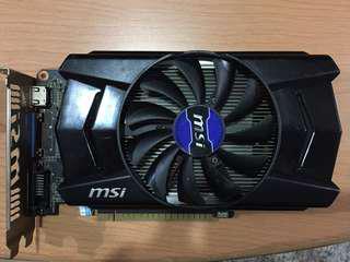 GTX 750 Ti 2GB MSI Graphic Card