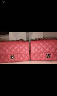 Chanel mini rectangle in 18S shiny rose pink caviar 🎀🎀