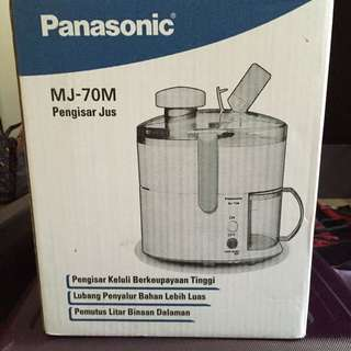 Fruit Juicer Panasonic MJ 70