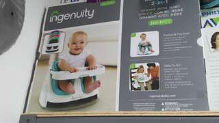 Brand new - Ingenuity Baby Seat 2 in 1 (Red)