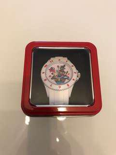 (激減)TAITO 日本景品 Super Mario Odyssey 白色 手錶 B款