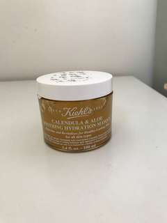Kiehl's calendula& aloe soothing hydration masque