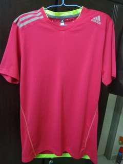 Adidas Climachill Running Shirt (Pink)
