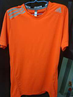 Adidas Climachill Running Shirt (Orange)