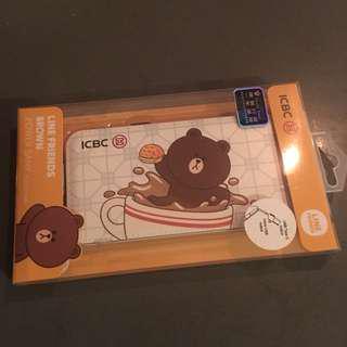 LINE 充電 熊大 ICBC Asia 信用卡 迎新