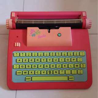 Old Barbie Typewriter
