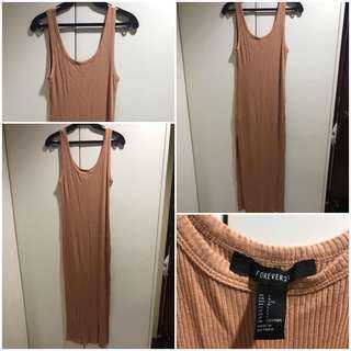 Forever 21 dress with side slit