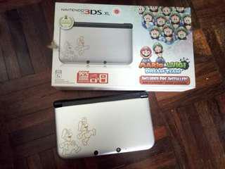 2nd Nintendo 3DS XL (Mario & Luigi Limited Edition)
