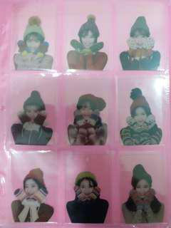 TWICE Blanket Transparent Photocard