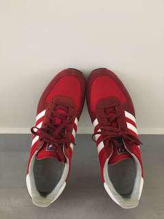 Adidas Originals Red Sneakers/ Size US10
