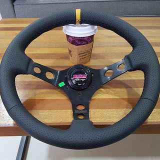 Juran racing steering wheel