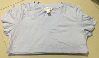 Forever 21 V Neck Tee Shirt